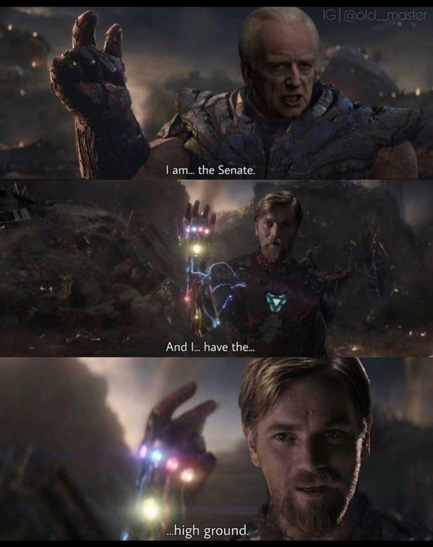 Obi-Wan vs Palpatine - meme