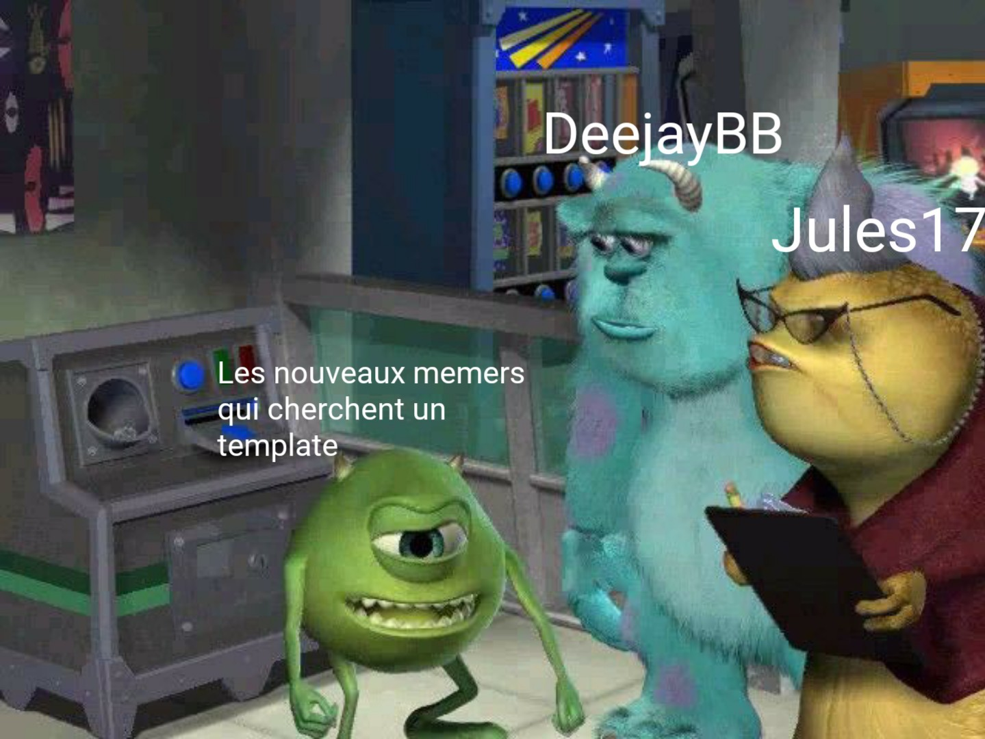 Aucune préférence je le jure - meme