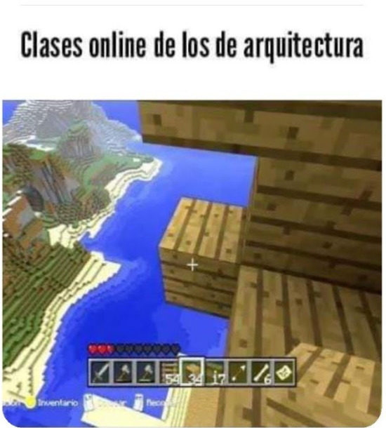 Minecraft sirve para estudiar!! - meme