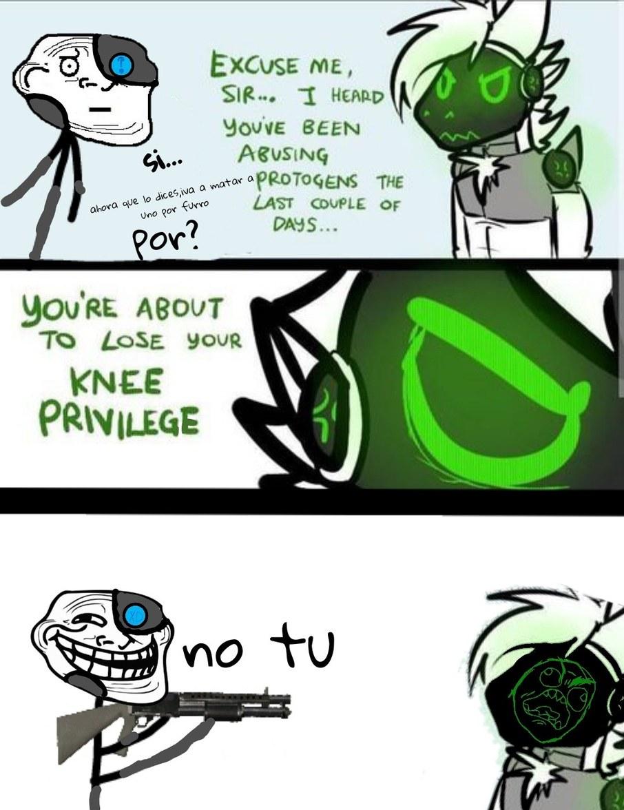 Reject protogen be troll face bot :chad: - meme