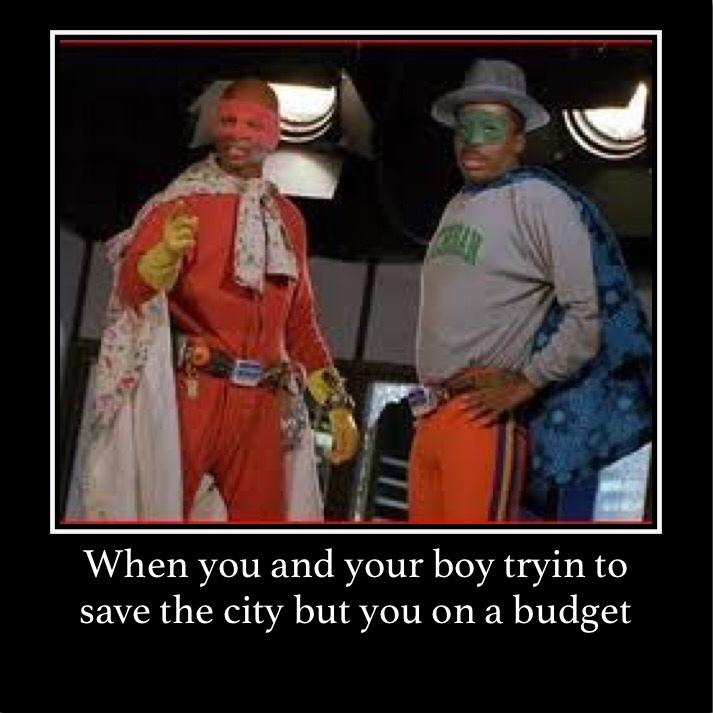 On a budget - meme