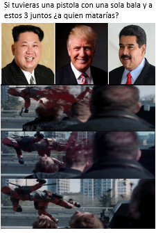 triple headshot - meme