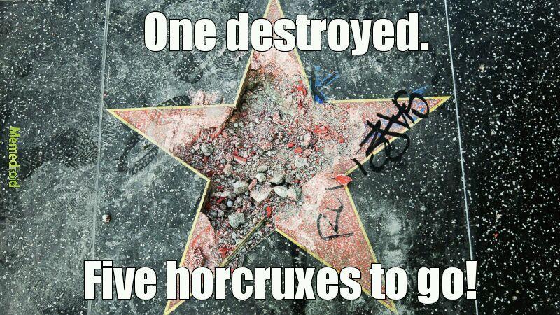 I'm sure Baron is a horcrux too. Help us Potter!! - meme