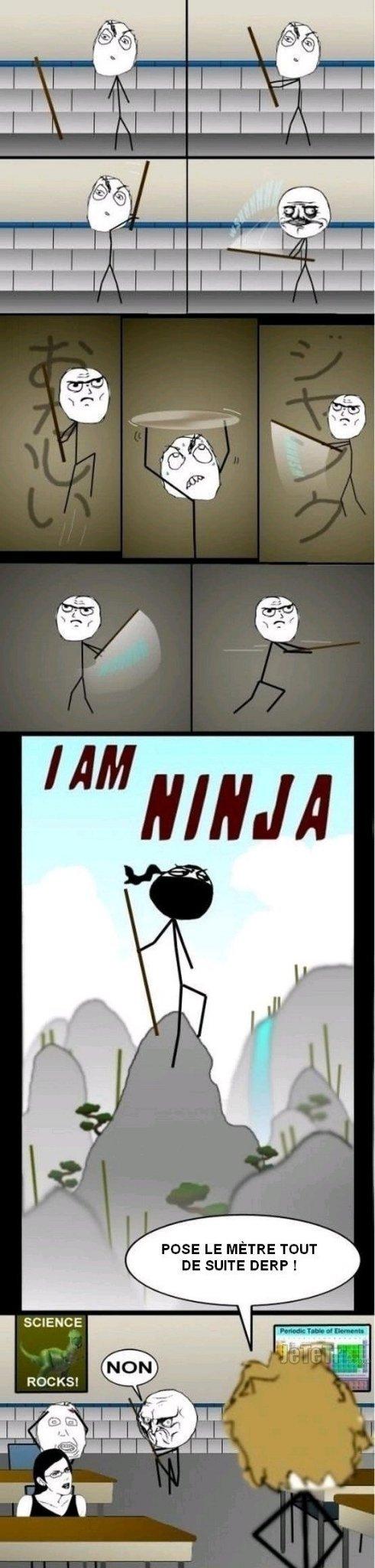 Je suis un Ninja - meme