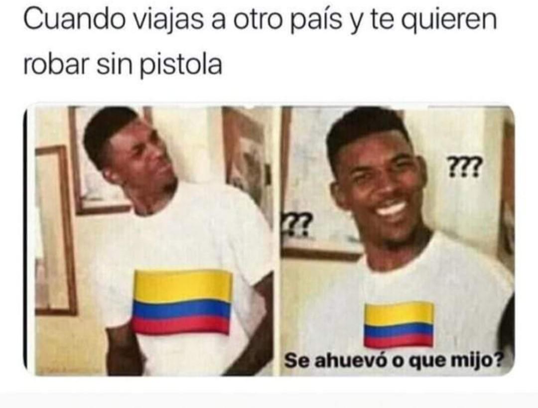 La realidad de toda Latinoamérica - meme