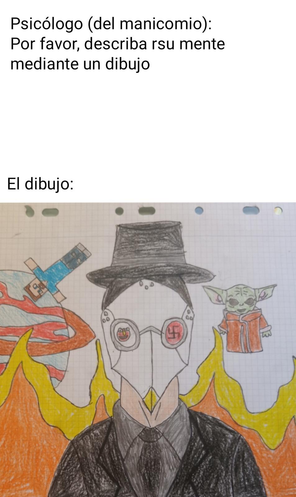 ESA DEFORMIDAD DEL OJO ES ELMO - meme