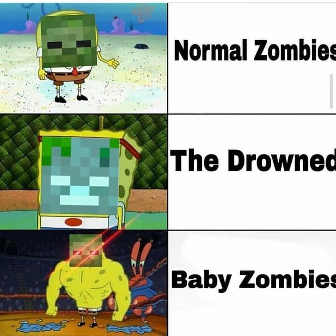 Ptn de bébé zombie de merde ! - meme