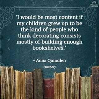 Decorate with Books - meme