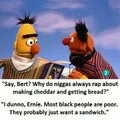Black people just wanna have a sandwich