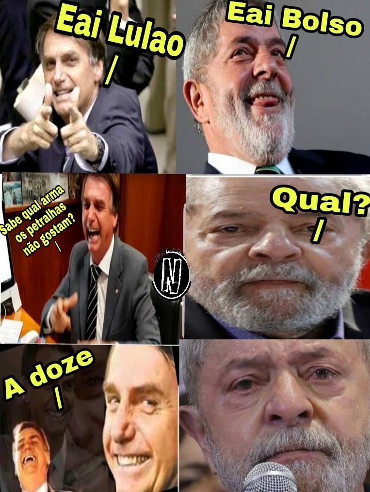 Lula ladrao roubou me coracao 2 - meme