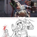 Yep. This has happened to me when I play as her