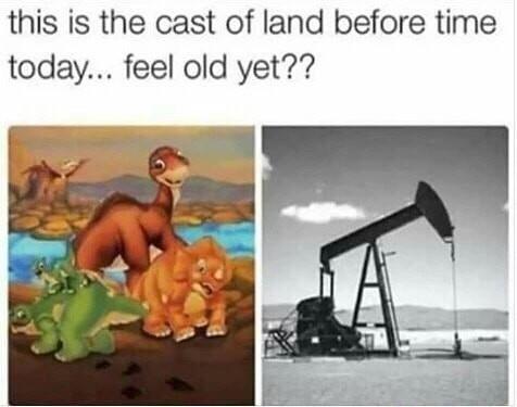 Damn old - meme