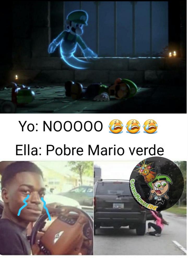Luigi vive en nuestro corazón <3 - meme