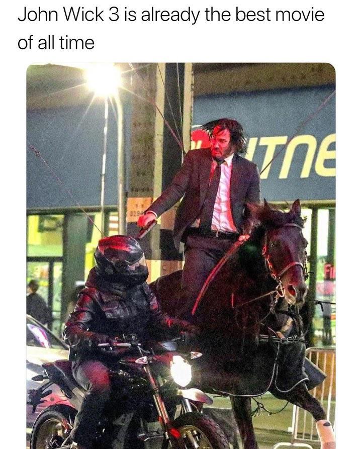 Horseback Assassin - meme