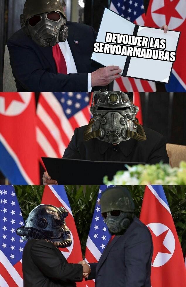 lleguemos a un acuerdo - meme