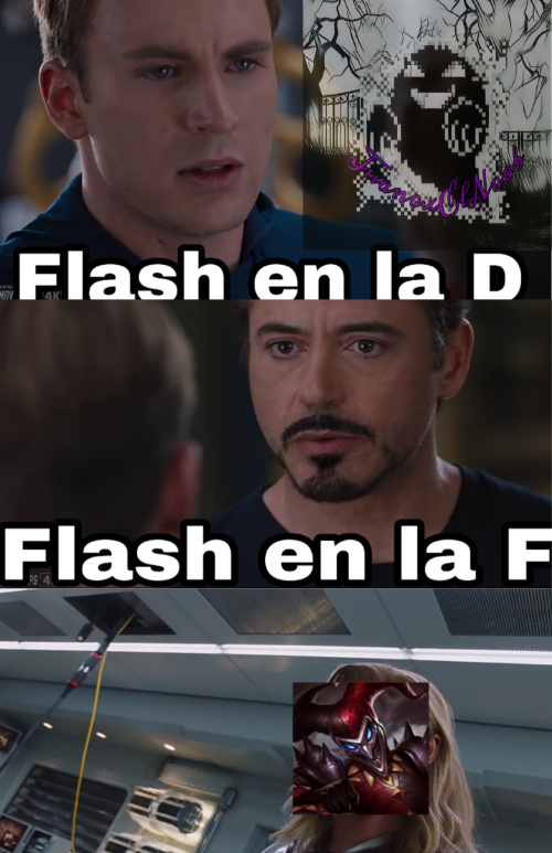 Aguante flash en la D        :D - meme