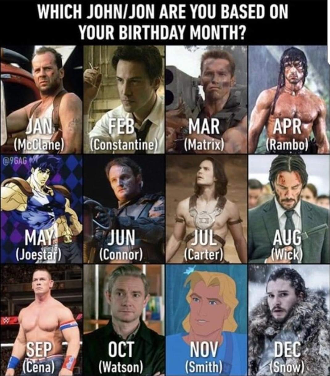 Jhon Cena all the way - meme