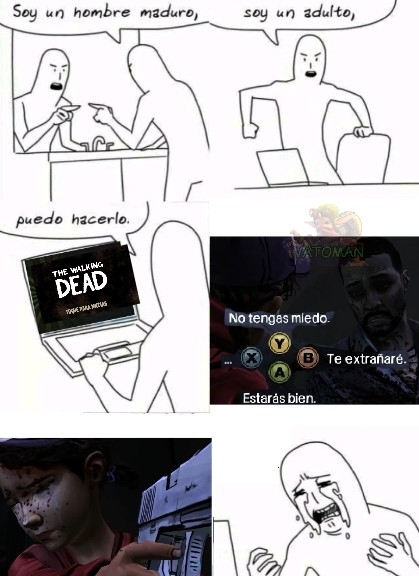 Si no sabes que es o que pasa puedes ver gameplays - meme