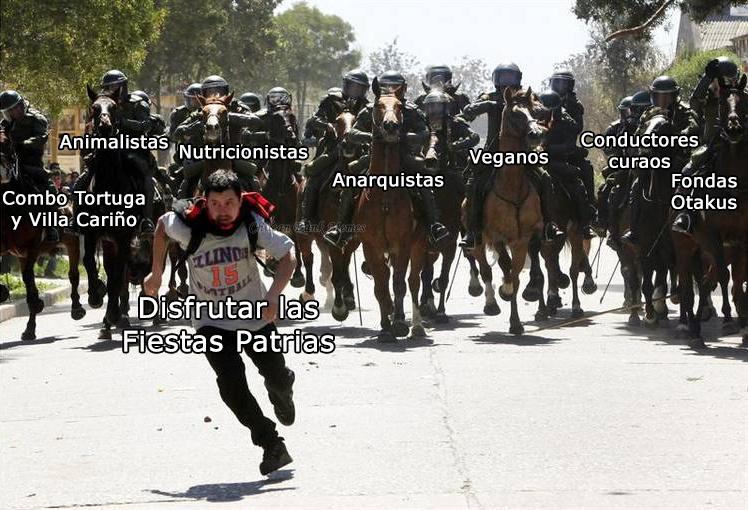 Aplica a cualquier país debajo de México - meme