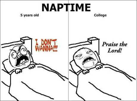 When you get older, napping will become a luxury - meme