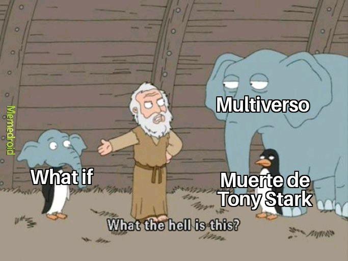 Próxima temporada: que pasaría si Tony Stark vive - meme