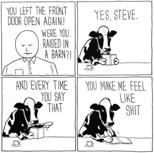 Cow - meme
