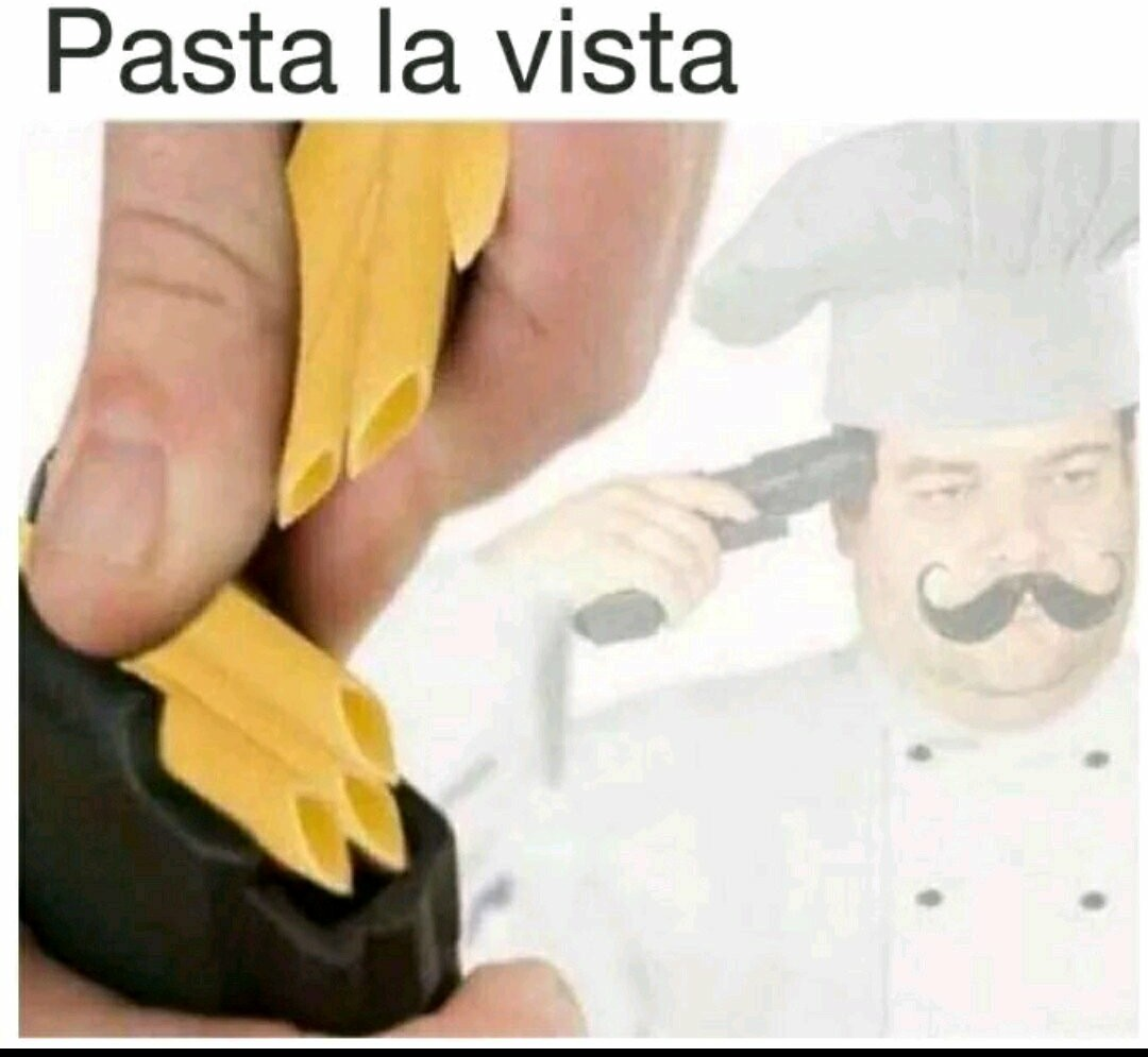 I like pasta - meme