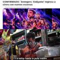 Sobre exploto mucho avengers xd