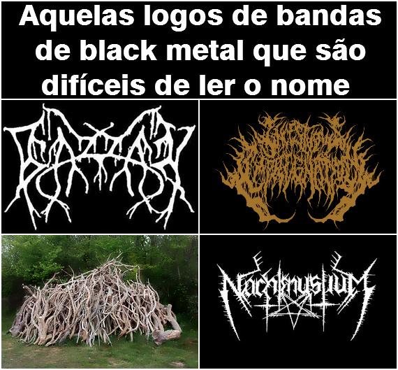 Bandas genéricas de Black Metal mais parecem com o som de vma frigideira fritando - meme