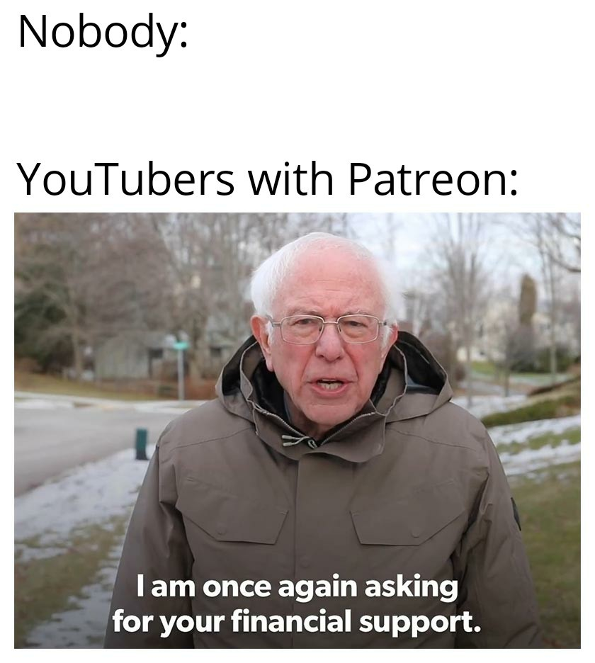 Financial support - meme