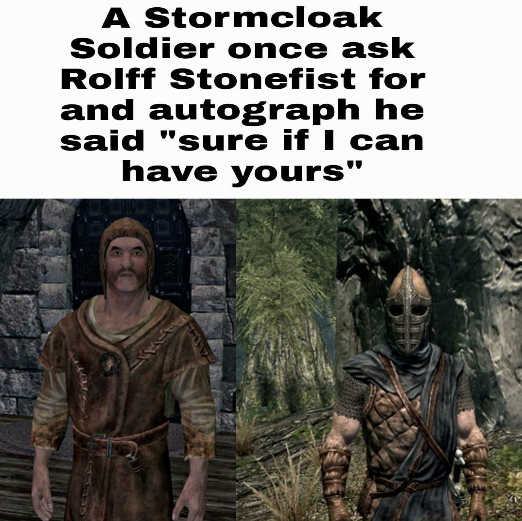 What a great man - meme