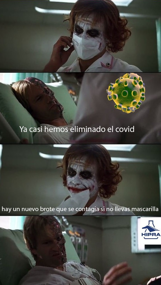 el virus sobrevive - meme