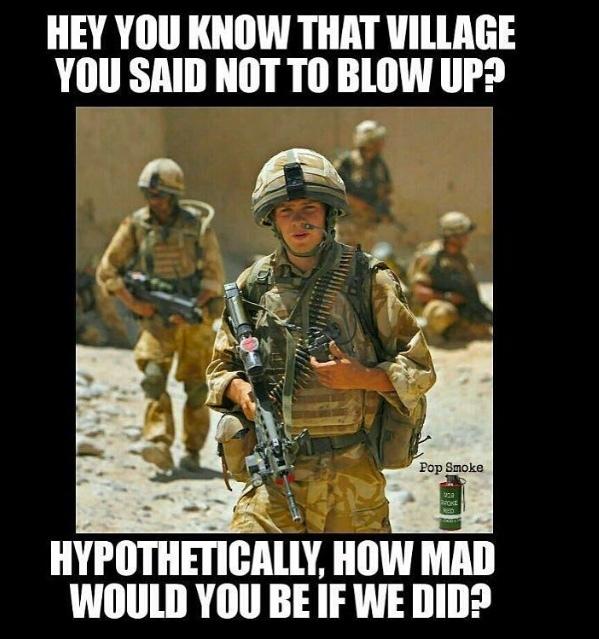 Blow stuff up - meme