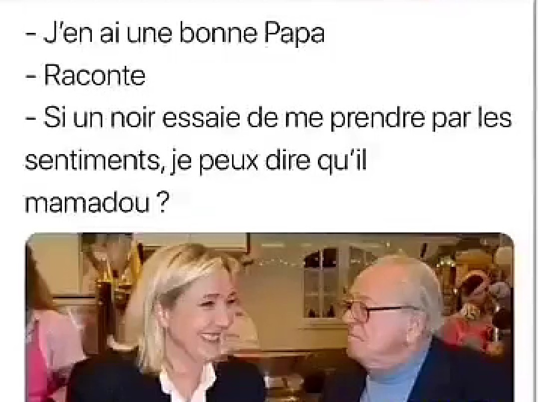 Humour blanc - meme