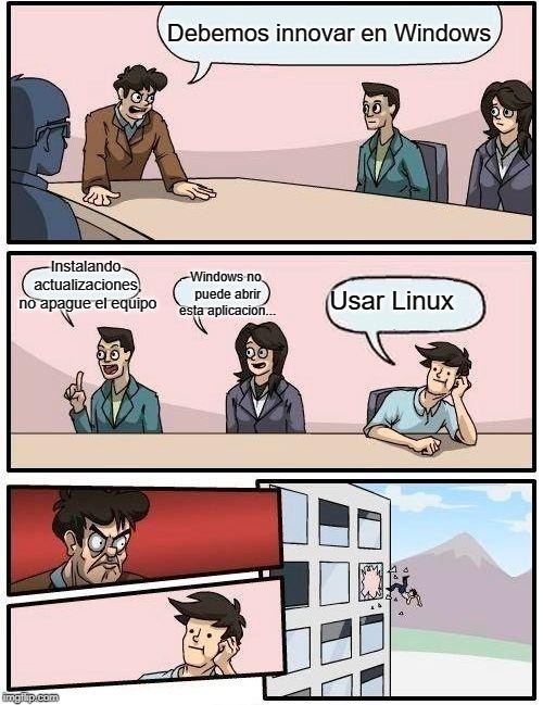 Linux xd - meme