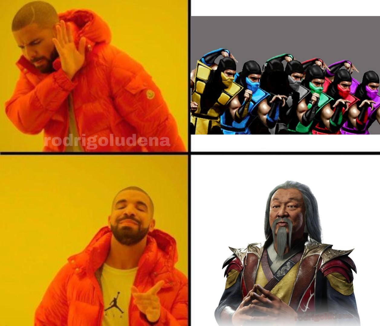 Shang tsung - meme