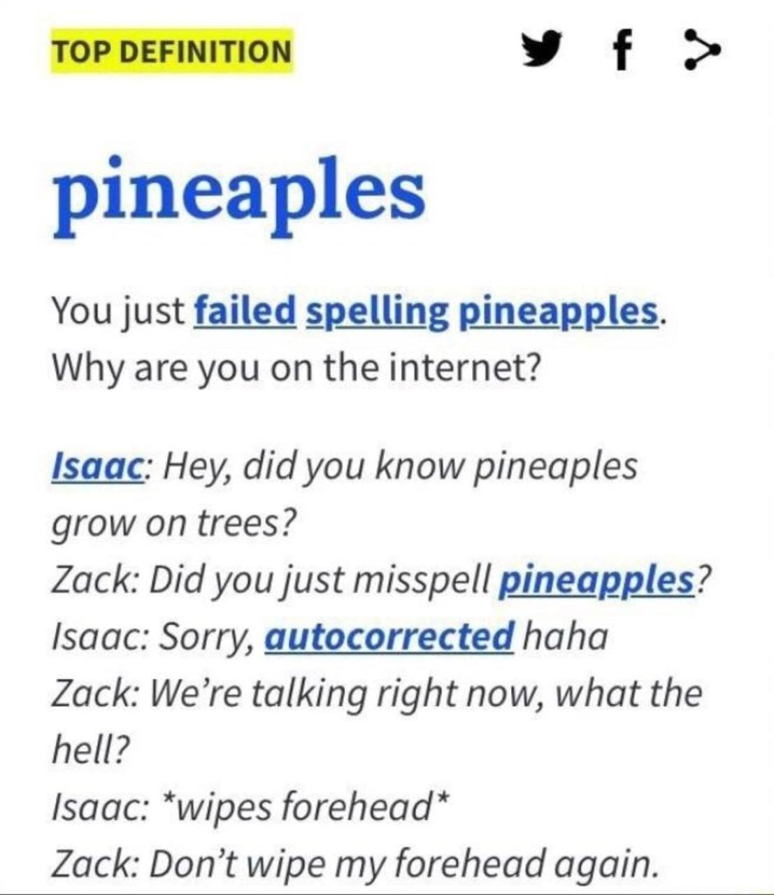pineaples - meme