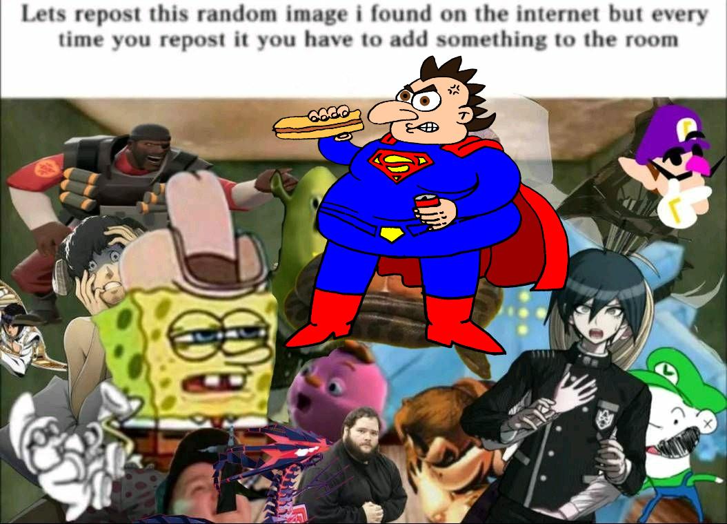 cadena de repost - meme
