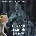 Un poco feo el Meme pero esta de verdad Hitler hay