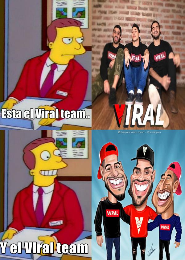 El Viral team troleador es otra linea temporal donde Viral son los dioses del troleo - meme