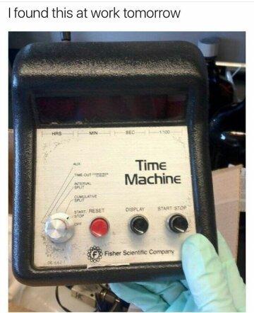 Timemachine - meme