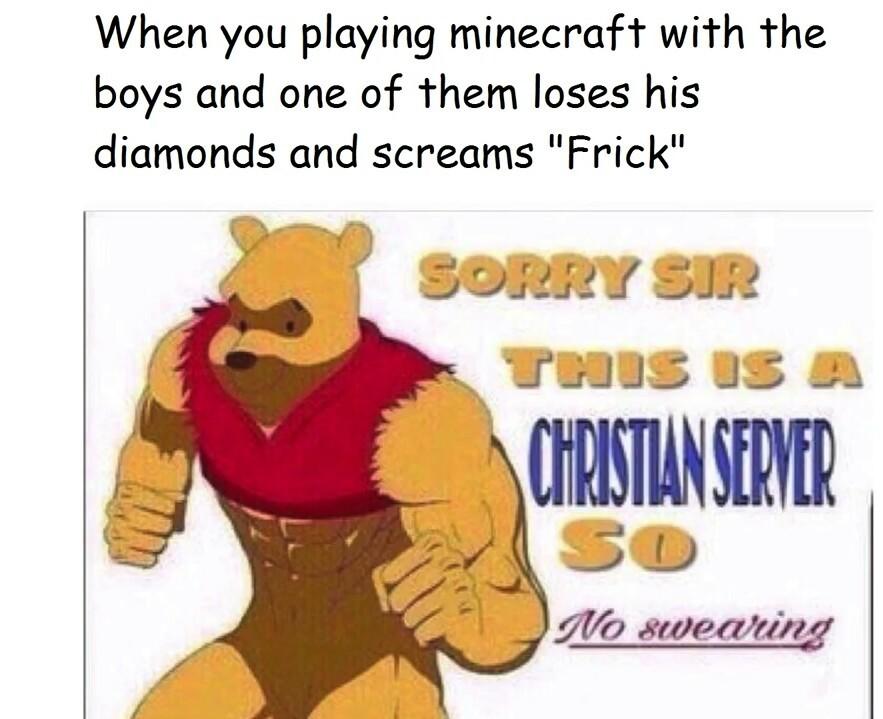 Watch your profanity - meme