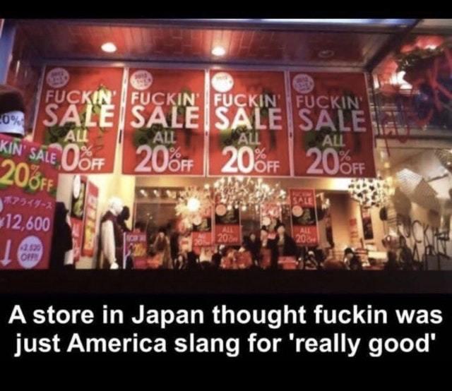 Fucking sale - meme