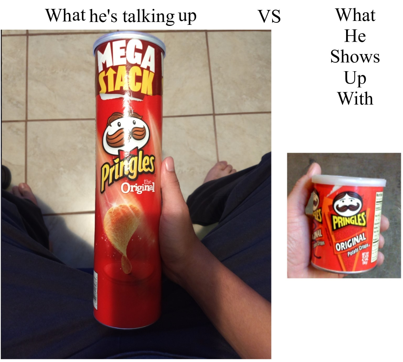 Size of the Can - meme