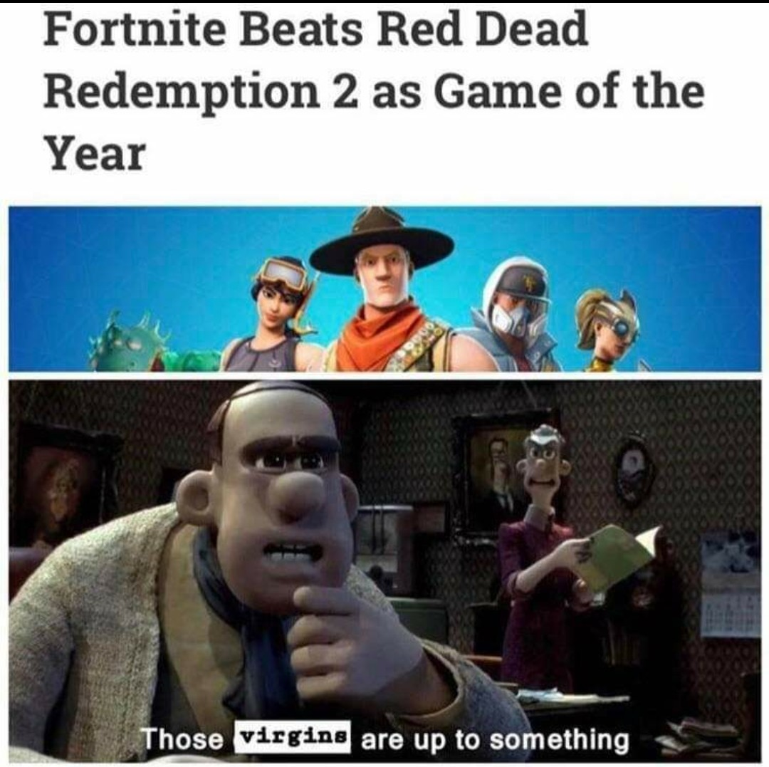RDR2 obviously should have won - meme