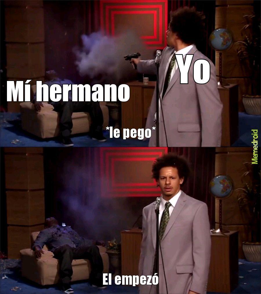 El empezó - meme