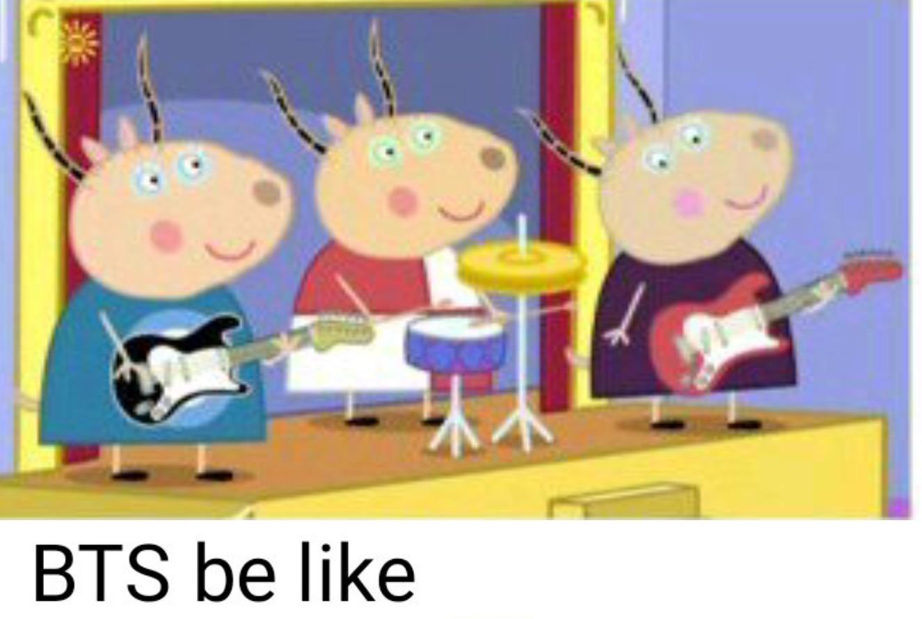 BTS BE LIKE - meme