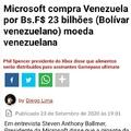 Kkkkk os cara compraram a Venezuela