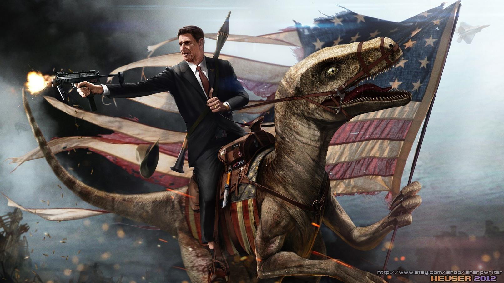 Reptile america - meme