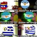 Venezuela, Argentina y Uruguay